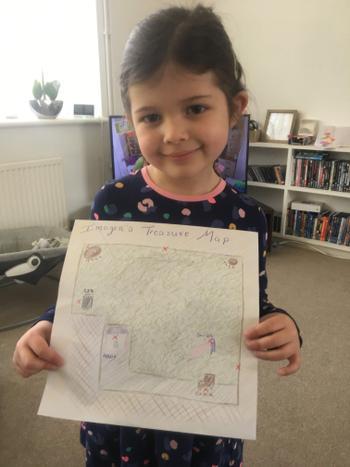 This is Imogen's treasure map
