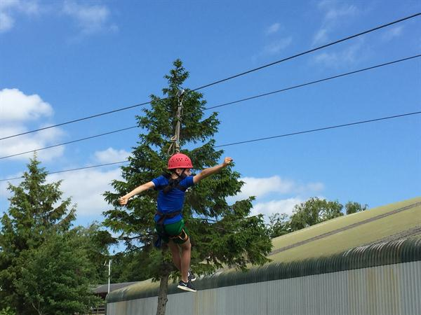 Day Two = Zip Wire