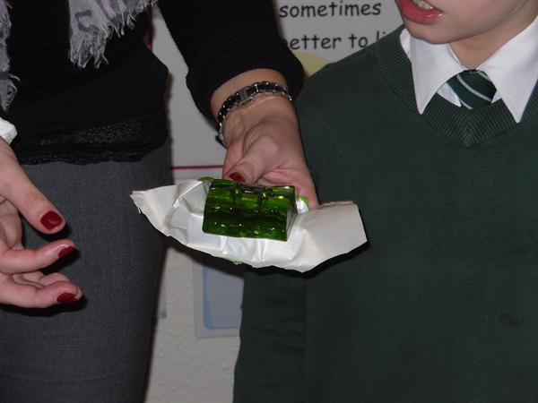 Making jelly in Science!