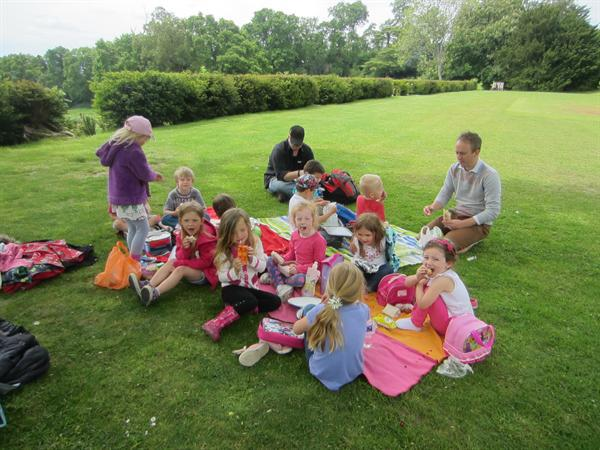 Forest school and Riverhill Trip