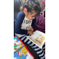 Laaiba loves to read!