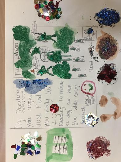 A great poster by a class 5 Short Woody