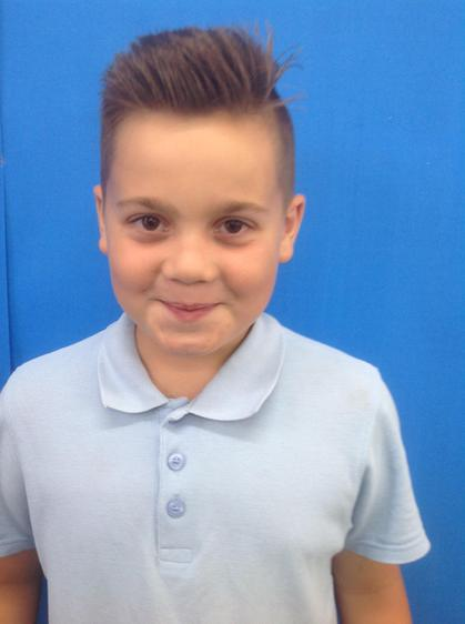 Well done Kian for persevering.