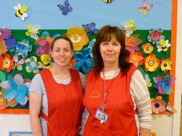 Mrs Patterson and Mrs Hunt