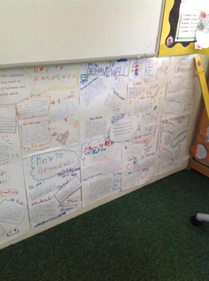 We used lots of different sentence types.