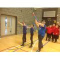 Our javelin throwers