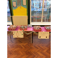 The children were proud of their Christmas treats!