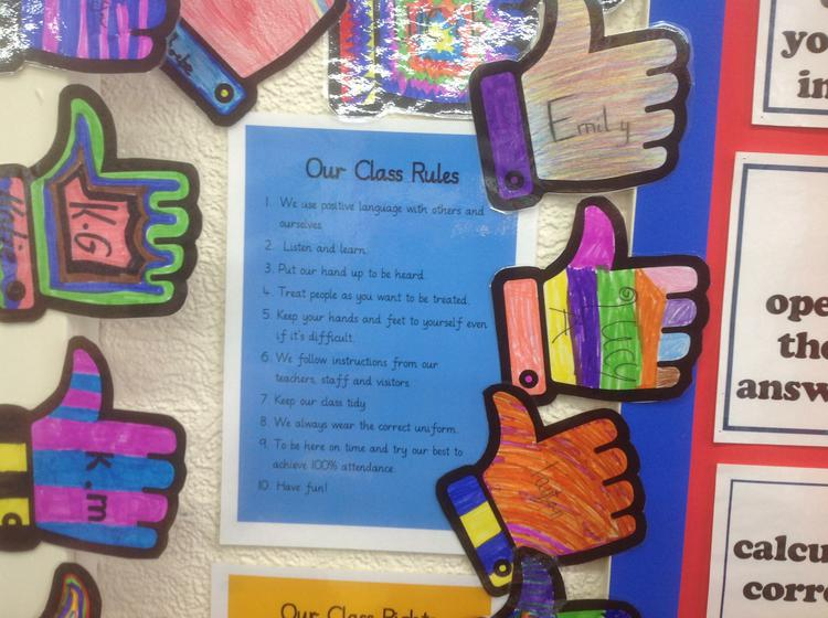 Our Class Charter