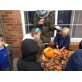 Finding out what is inside a pumpkin