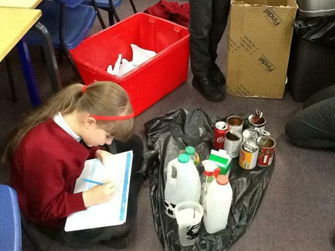 Year 4 Recycling Project