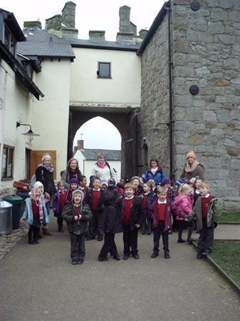 Our class trip to Whitington Castle 14.03.13