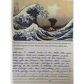 Descriptive writing about a Tsunami
