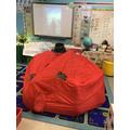 Einstein class experience an emergency bothy tent