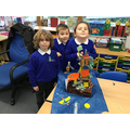 We added lots of colour to our castle!