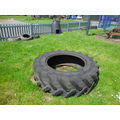 We are going to turn this tyre into a sandpit!