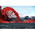 How far does the lava travel? (DP, AT)