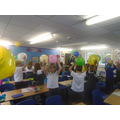 Balloon hair - Investigating static electricity.