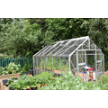 Greenhouse and vegetable garden