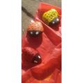 Bobbie's painted stones