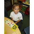 Exploring numbers in Reception.