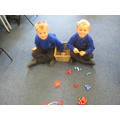 Representing numbers using resources.