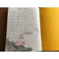 Isabella's writing