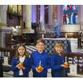 Christingle service at the cathedral.