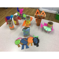 Toilet Roll Creations
