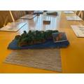 Angel's Lundy Island model