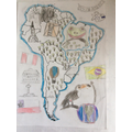 Sam's map of South America