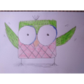 Samuel's amazing drawing.