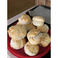 Bella's scones - much better than Mrs Preece's!!
