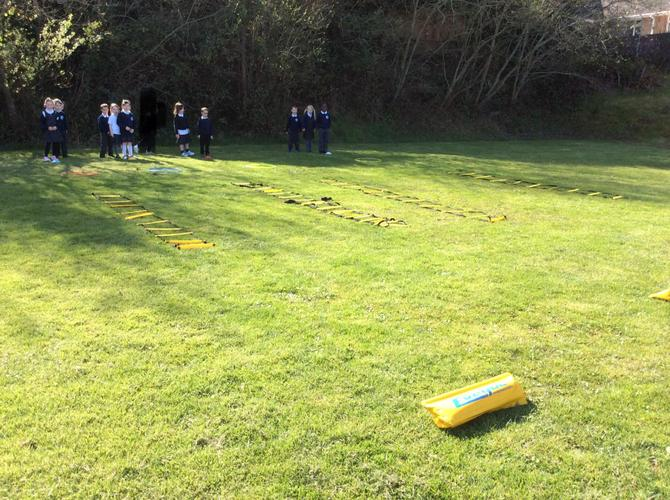 Afternoon Relay Races