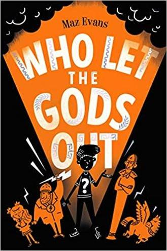 Who Let The Gods Out is our current class book.
