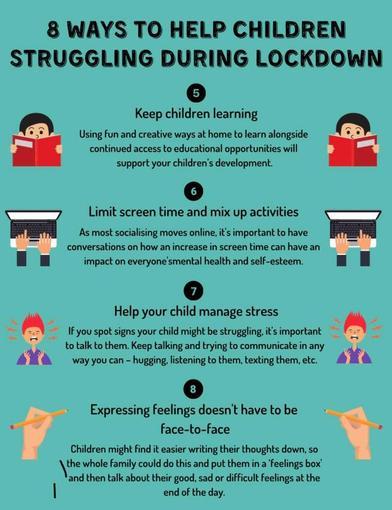8 ways to help children struggling during lockdown - page 2