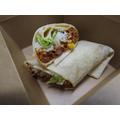 Veggie Burrito with Mixed Beans, Rice and Tomato Relish