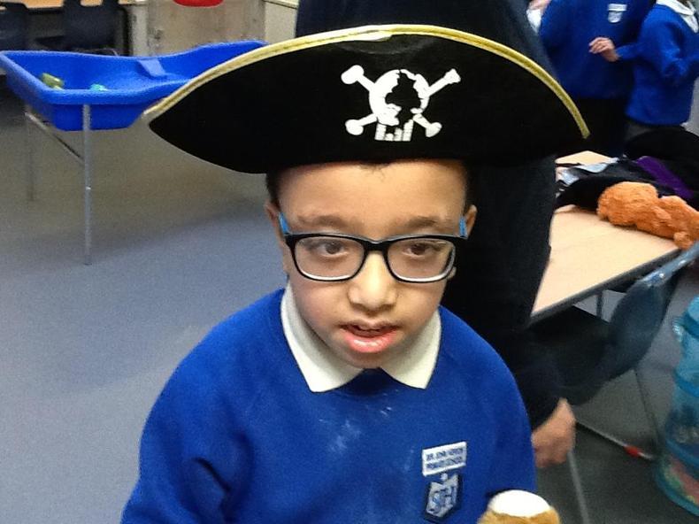 Enjoying being a pirate