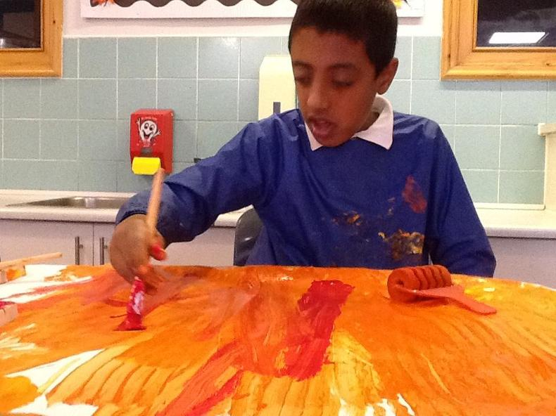 Exploring the mixture of colours