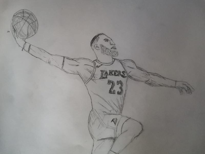 Basketball is the best - Pedro