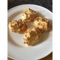 Erin's VE Day mashed potato dumplines