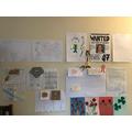 Erin's Work Wall