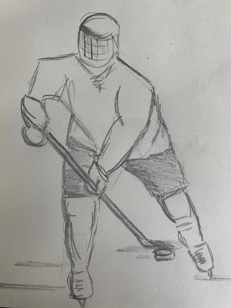 Hockey all the way! Miss Harris
