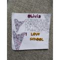 Olivia's fantastic school poem