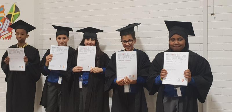 Team Violette Szabo graduating!
