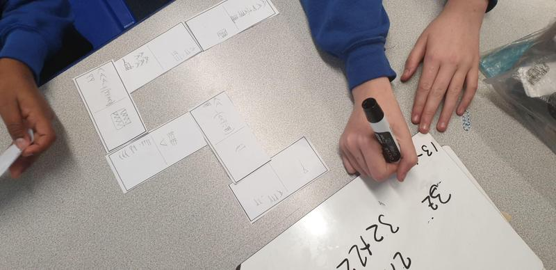 And designed a cuneiform game of dominoes