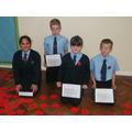 Each class read poems