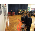 Pupils Lay Poppies