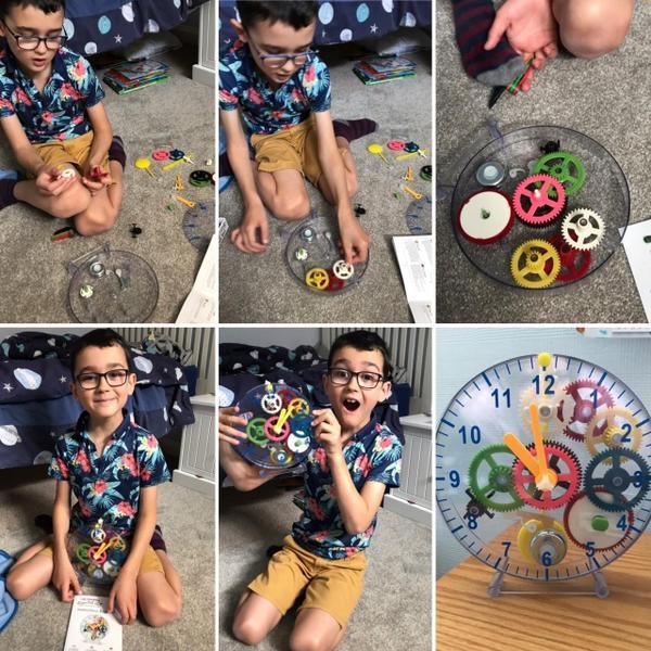 Josh has been his own clock