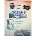 Save our Oceans poster from AH. Great work!