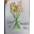 SFH love to promote crafts that we can take home. Here is a card to celebrate our mothers.